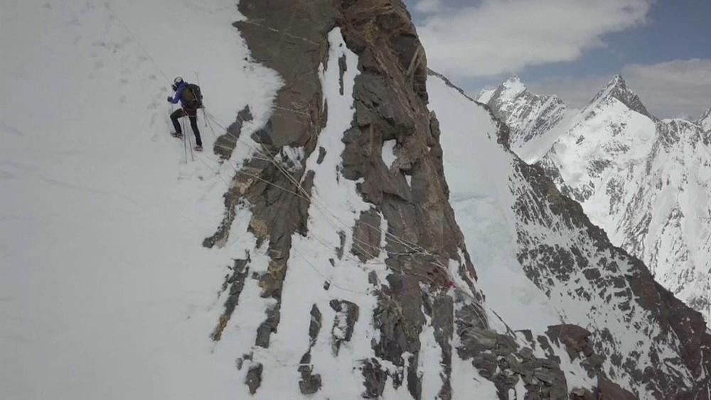 Dinge, die man nur einmal macht: Auf Ski vom K2
