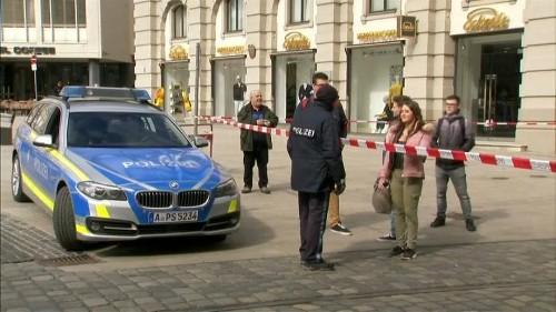 شاهد: الشرطة الألمانية تخلي مباني البلدية في عدد من المدن بعد تلقي تهديدات
