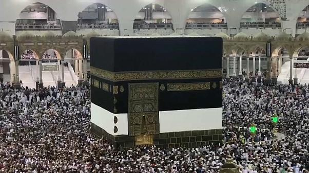 Watch: Over 2 million pilgrims gather in Mecca for Hajj pilgrimage