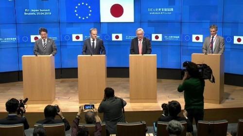 Libre-échange : l'UE et le Japon à l'unisson