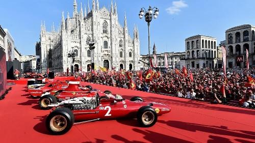Ferrari celebrates 90th anniversary in Milan