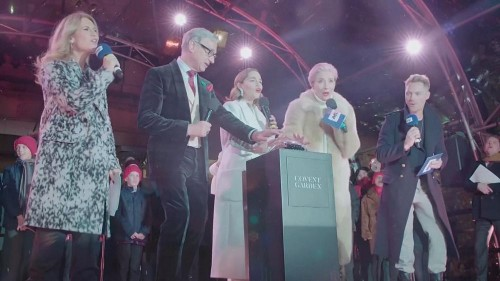 Stars promote new film 'Last Christmas' in central London