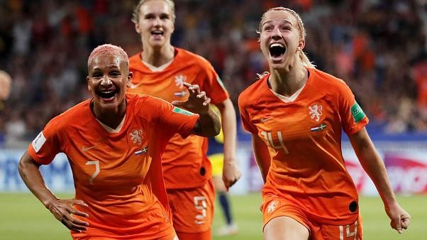 Francia 2019: l'Olanda batte la Svezia (1-0), in finale contro gli Usa