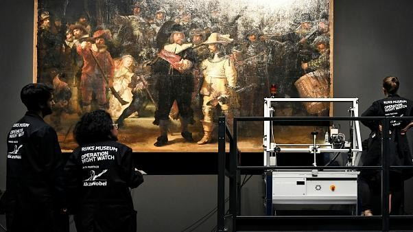 How does a Rembrandt masterpiece get restored?