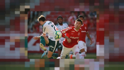 Second-place Palmeiras draw 1-1 away to Inter