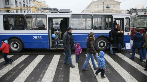 Moscow bus drivers told to raise alarm if Chinese people are on board