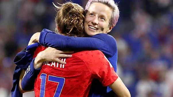 England out of Women's World Cup as USA squeeze through 2-1
