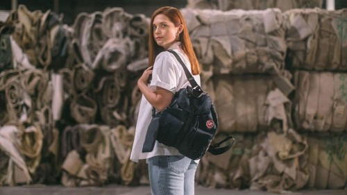 Prada unveils revolutionary bag collection made from ocean plastic