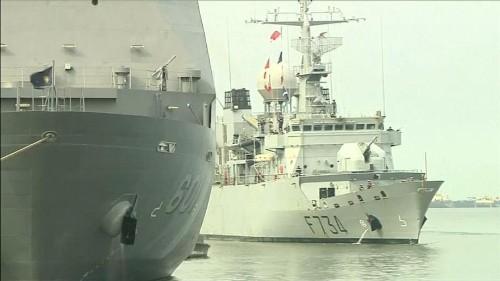 Incident naval entre la France et la Chine