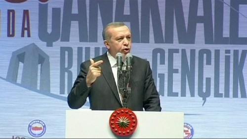اردوغان ينتقد الدول الغربية لعدم اهتمامها بالازمة السورية