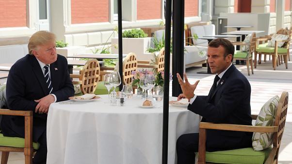 Macron quer acabar com guerra comercial EUA-China