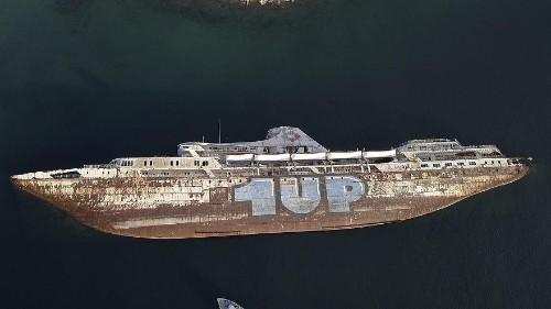 Greece exhumes decades-old ship graveyard amid fears of environmental hazard