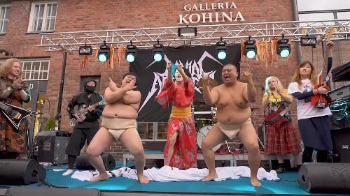 First-ever Heavy Metal Knitting World Championship in Finland