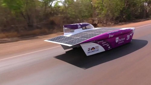 World's biggest solar car race gets underway in Australia