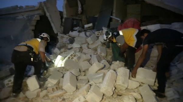 15 muertos en un bombardeo ruso en Idlib en un recrudecimiento de la violencia en Siria