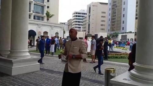 'Moaning children saved us from Sri Lanka hotel blast'