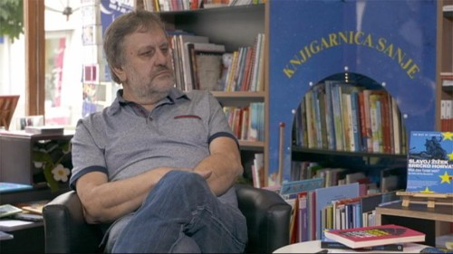 """Slovenian philosopher Slavoy Zizek warns about """"new invisible walls"""""""