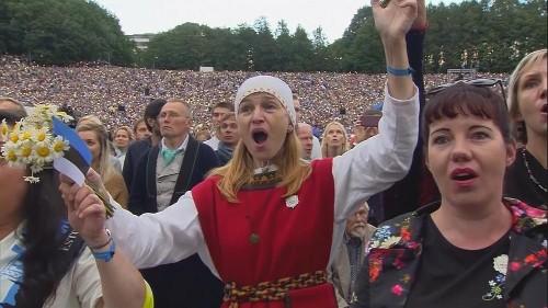 Estónia assinala 150 anos de festival da canção folclórica