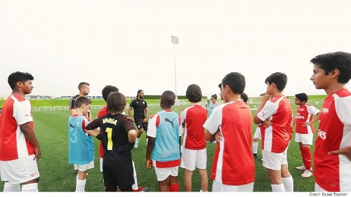 Dubai's thriving sports academies promoting healthy lifestyles
