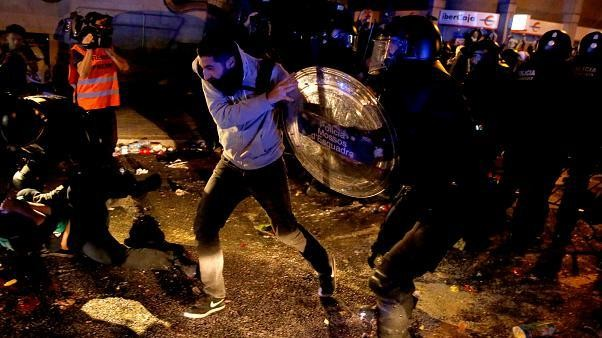 """""""Tsunami Democrático"""" varre Barcelona"""