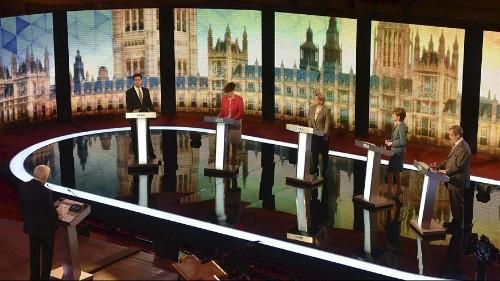 UK opposition leaders meet for debate