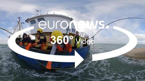 Vidéo 360° : montez à bord d'un bateau-école qui forme la relève des pêcheurs belges