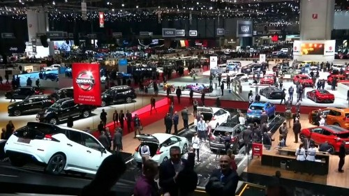 Carmakers mull over diesel's demise at Geneva auto show