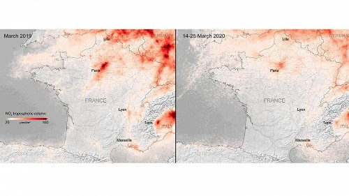 Pollution : paradoxe, grâce au coronavirus, l'Europe respire mieux
