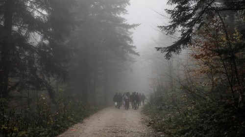 Migrant shot by Croatian police in mountains near Slovenian border