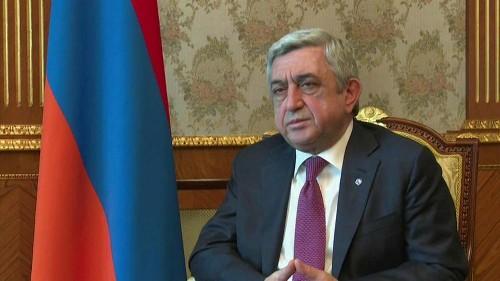 Armeniens Ex-Präsident Sersch Sargsjan wegen Korruption angeklagt