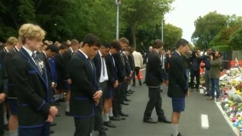 Gedenken an Anschlags-Opfer von Christchurch