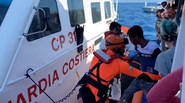 Open Arms migrant rescue boat rejects Spanish offer of safe haven
