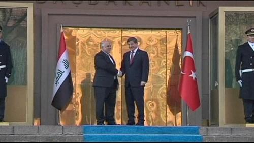 بغداد وأنقرة تتعهدان بقتال تنظيم داعش