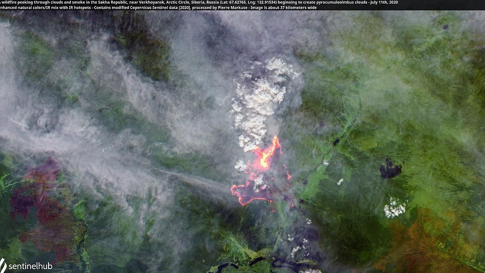 High temperatures, melting ice and wildfires combine for unprecedented Arctic summer