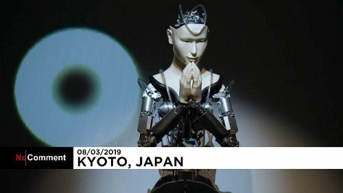 Japanese robot delivers Buddhist teachings