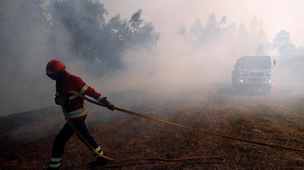 Le Portugal en proie aux flammes