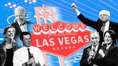 Las Vegas Democratic debate live updates: Six candidates face off in Nevada