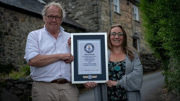 Uphill battle: Welsh town Harlech wins record for world's steepest street