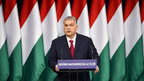 Hungary's Orban lashes out at slow EU growth and 'sinister menaces'