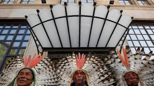 Amazonas: Demonstrationen, um ihn zu schützen