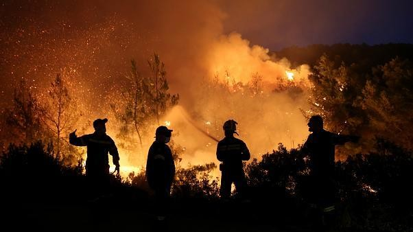 There have been three times more wildfires in the EU so far this year