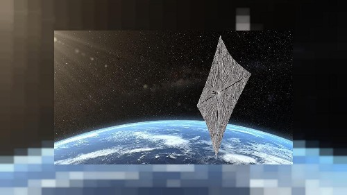 Satellite is first 'spacecraft' to be propelled only by sun energy