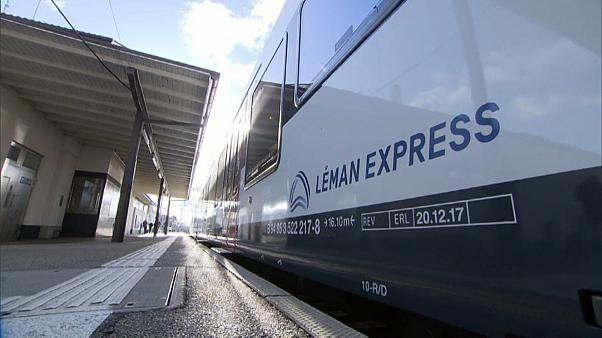 Lancement officiel du Léman Express entre la France et la Suisse