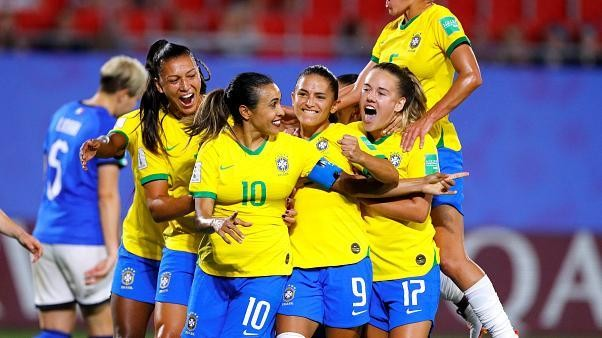 Women's World Cup 2019: Brazil beat Italy to set up last-16 match against France or Germany