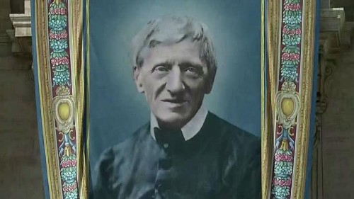 VIDEO : Cardinal Newman declared a saint by Pope Francis along with four other religious figures