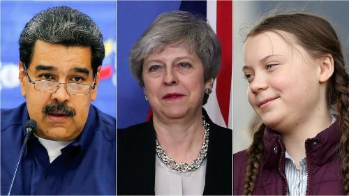 Venezuela aid row; Brexit defections; and youth climate protests   Live updates