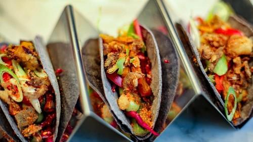 We tried a new plant-based menu at London restaurant Scarlett Green