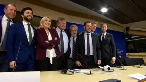 New European far-right coalition named Identity and Democracy