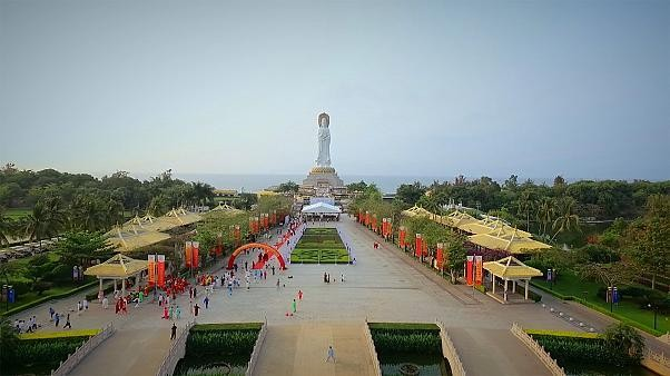 Sanya on China's Hainan island offers a unique cultural experience as well as being a tropical paradise