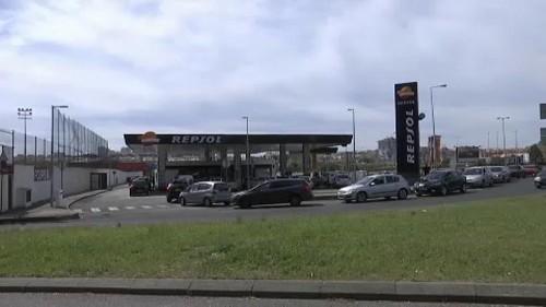 Pénurie de carburant au Portugal